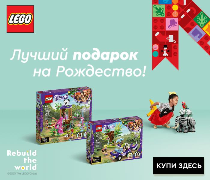 Лучший подарок на Рождество -  LEGO Животные