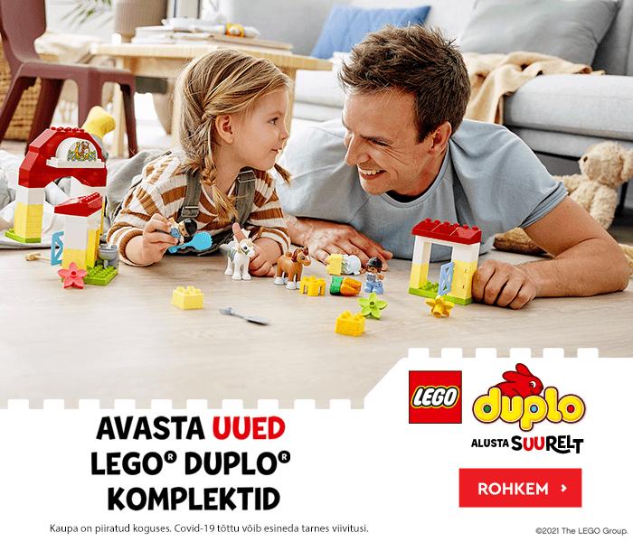 AVASTA UUED LEGO DUPLO KOMPLEKTID