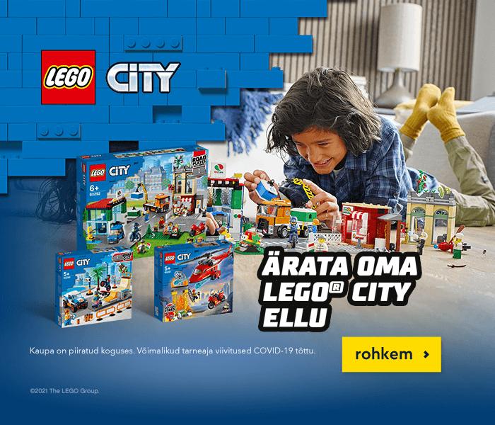 Ärata oma LEGO City ellu