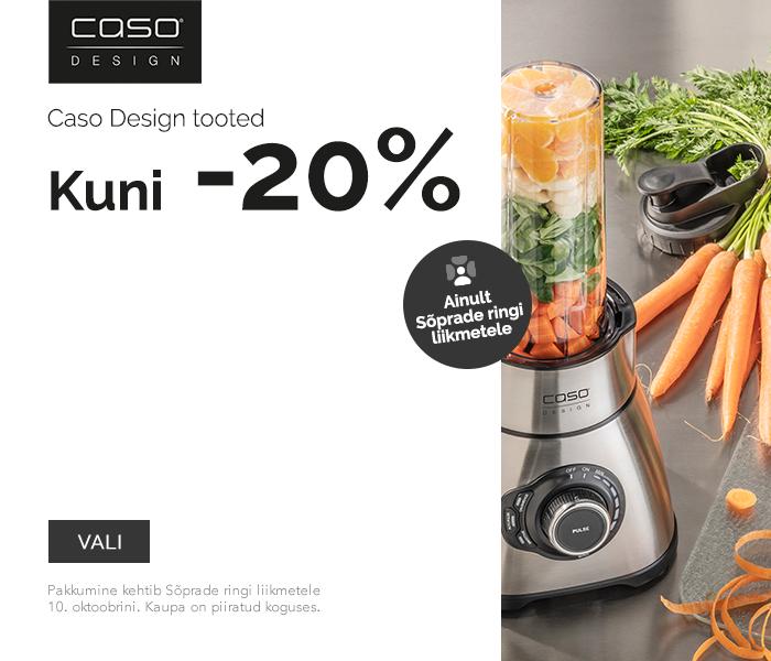 Caso Design tooted kuni -20% soodsamalt - ainult Sõprade ringi liikmetele