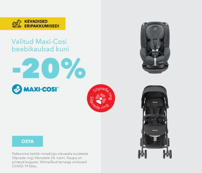Kevadised eripakkumised  Valitud Maxi Cosi tooted kuni -20%