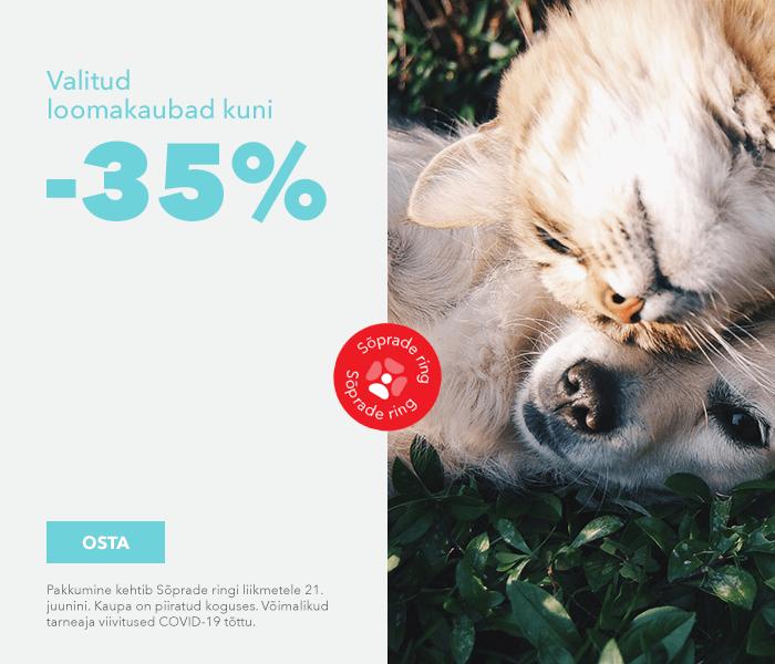 Valitud loomakaubad kuni -35%