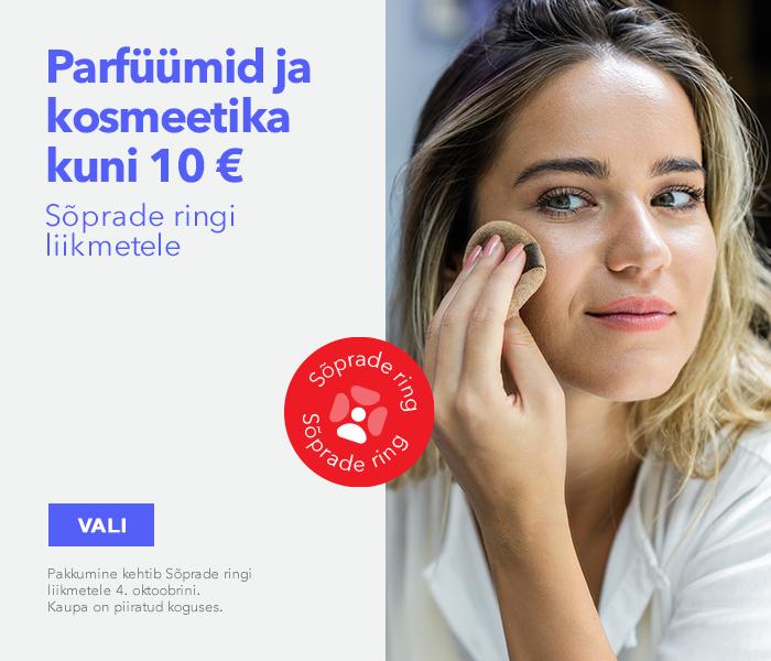 Sõprade ringi liikmetele - parfüümid ja kosmeetika kuni 10€