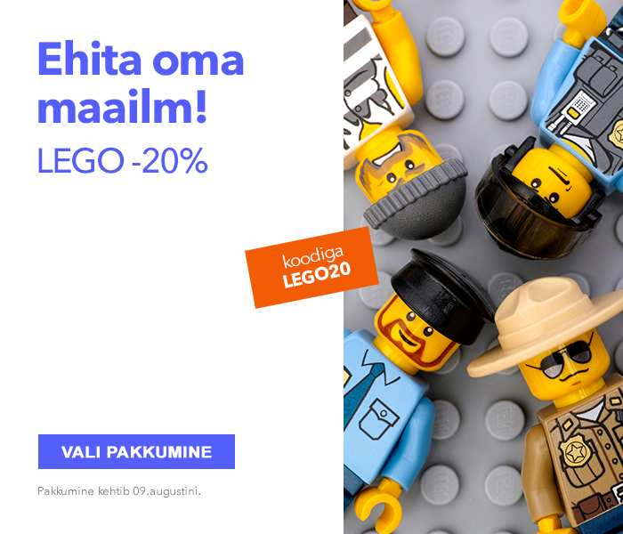 Ehita oma maailm! LEGO -20%