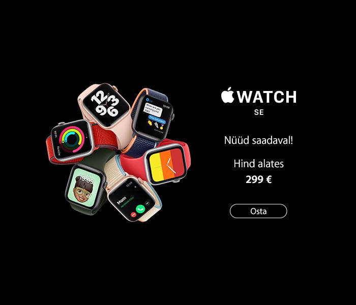 Apple Watch SE - nüüd saadaval!